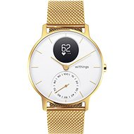 Withings Steel HR (36mm) LIMITED EDITION - Champagne Gold/White - Smartwatch
