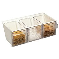 WESTMARK Milano Dispenser Unit, with 3 Trays - Food Container Set
