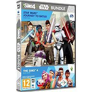 The Sims 4: Star Wars - Journey to Batuu Bundle (Full Game + Expansion Pack) - PC Game