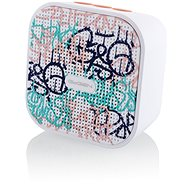 Gogen BS 034 STREET G white-pink - Bluetooth speaker