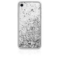 White Diamonds Sparkle for Apple iPhone XR - Silver Stars - Mobile Case