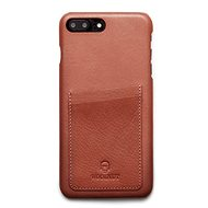 Woolnut Wallet Case for iPhone 7+/8+ Cognac - Mobile Phone Case