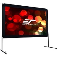 """ELITE SCREENS, Mobile Outdoor Tripod 120"""" (16: 9) - Projection Screen"""