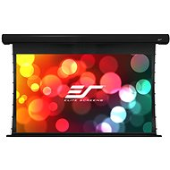 """ELITE SCREENS, Drop Down Projection Screen With an Electric Motor 120"""" (16:9) - Projection Screen"""