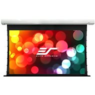 """ELITE SCREENS, Drop Down Projection Screen With an Electric Motor 135"""" (16:9) - Projection Screen"""