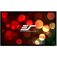 "ELITE SCREENS canvas in a fixed frame 165""(16:9) - Projection Screen"