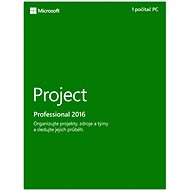 Microsoft Project Professional 2016 - Electronic License