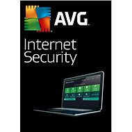 AVG Internet Security for 3 computers for 12 months (electronic license) - Security Software
