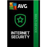 AVG Internet Security Unlimited for 12 months (electronic license) - Security Software