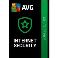 AVG Internet Security Unlimited for 24 months (electronic license) - Security Software