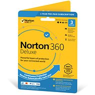 Symantec Norton 360 Deluxe 25GB CZ, 1 user, 3 devices, 12 months (electronic license)