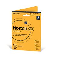 Norton 360 Deluxe 50GB CZ, 1 user, 5 devices, 12 months (Electronic Licence) - Electronic license