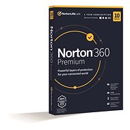 Norton 360 Premium 75GB CZ, 1 user, 10 devices, 12 months (Electronic Licence) - Internet Security