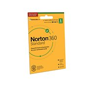 Norton 360 Deluxe 10GB CZ + VPN, 1 User, 1 Device, 12 Months (Card) - Internet Security