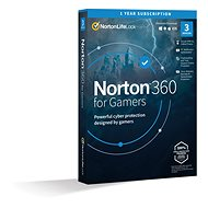 Norton 360 for gamers 50GB CZ, 1 user, 3 devices, 12 months (electronic license) - Internet Security