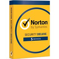 Symantec Norton Security Deluxe 3.0 GB, 1 user, 5 facility, 12 months