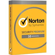 Norton Security Premium CZ, 1 user, 10 devices, 3 years (electronic license) - Electronic license