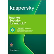 Kaspersky Internet Security for Android for 1 phone or tablet for 12 months, new license
