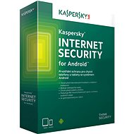 Kaspersky Internet Security for Android for 1 phone or tablet for 24 months, new license - E-license
