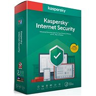 Kaspersky Internet Security for 3 PCs for 12 Months, New (BOX) - Internet Security