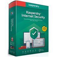 Kaspersky Internet Security for 3 PCs for 12 Months, Recovery (BOX) - Internet Security
