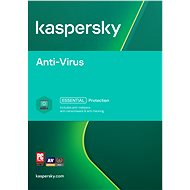 Kaspersky Anti-Virus Renewal for 2 computers for 12 months (electronic license) - Antivirus software