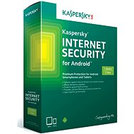 Kaspersky Internet Security for Android CZ Recovery for 1 mobile or tablet for 24 months (electronic - Security Software