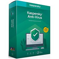 Kaspersky Anti-Virus, new license (BOX) - Security Software