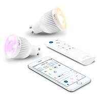 WiZ Wifi Smart Bulb 2x GU10 with Remote Control WZ0195082