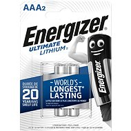 Disposable batteries Energizer Ultimate Lithium AAA/2 - Jednorázová baterie