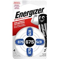 Energizer 675 DP-4 for hearing aid - Button Battery
