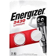 Energizer Lithium Button Battery CR2430 2 Pieces - Button Cell