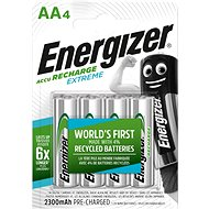 Energizer NiMH Extreme HR6 AA 2300mAh (4 pieces) - Rechargeable Battery