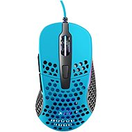 XTRFY Gaming Mouse M4 RGB Miami Blue - Gaming Mouse