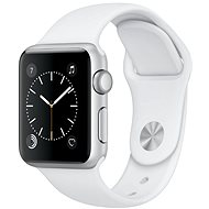 Apple Watch Series 1 38mm Silver aluminum with white sports strap - Smartwatch