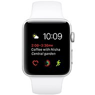 Apple Watch Series 1 38mm Silver aluminum with white sport strap DEMO - Smartwatch