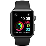 Apple Watch Series 1 38mm Space gray aluminum with black sporting strap DEMO - Smartwatch