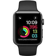 Apple Watch Series 1 42mm Space gray aluminum with black sporting strap DEMO - Smartwatch