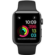 Apple Watch Series 2 38mm Space gray aluminum with black sporting strap DEMO - Smartwatch