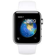 Apple Watch Series 2 38mm Stainless steel with white sport strap DEMO - Smartwatch