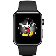 Apple Watch Series 2 38mm Space black black stainless steel with space black sports belt DEMO - Smartwatch