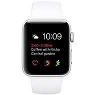 Apple Watch Series 2 42mm Silver aluminum with white sport strap DEMO - Smartwatch