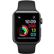 Apple Watch Series 2 42mm Space-Gray Aluminum with Black Sport Strap DEMO - Smartwatch