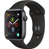 DEMO Apple Watch Series 4 44mm Space black aluminum with black sports strap - Smartwatch