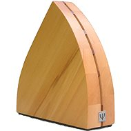 Knife Block YAXELL Wooden Stand for 5 Natural Knives - Stojan na nože