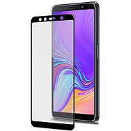CELLY Full Glass for Samsung Galaxy A7 (2018) Black - Glass protector
