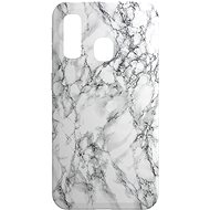AlzaGuard - Samsung Galaxy A40 - White Marble - Mobile Case