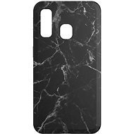 AlzaGuard - Samsung Galaxy A40 - Black Marble - Mobile Case