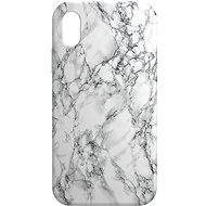 AlzaGuard - Apple iPhone XR - White Marble - Mobile Case