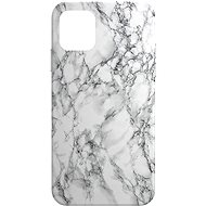 AlzaGuard - Apple iPhone 11 - White Marble - Mobile Case
